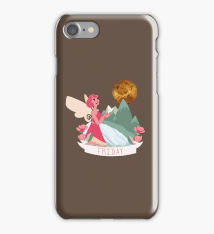 Days of the week - Friday iPhone Case/Skin