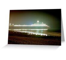 Eastbourne Pier East Sussex England UK 2003 Greeting Card