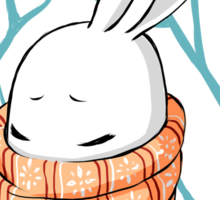 Winter Bunny Sticker