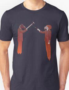 Horse Man and Lion Log T-Shirt