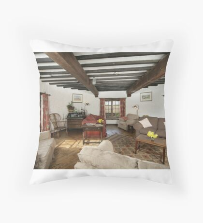 Cley Windmill's Round Rooms Throw Pillow