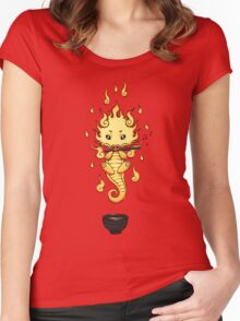 Dragon Tea Women's Fitted Scoop T-Shirt