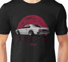 Nissan Skyline C210 (white) Unisex T-Shirt