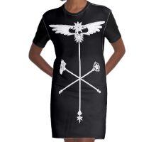 Sakura Wands Graphic T-Shirt Dress