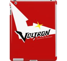 Voltron Logo in Keith Red iPad Case/Skin