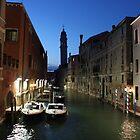 Rio dei Greci, Venice by Elena Skvortsova