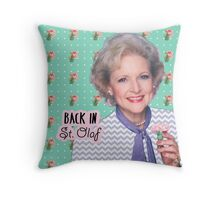 Rose Nylund Throw Pillow