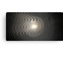 Silver Waves Canvas Print