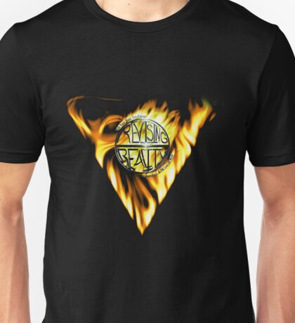 Sacred Feminine Reality in Flames Unisex T-Shirt