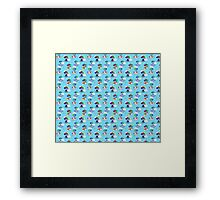 Balloon Animal Pattern Framed Print