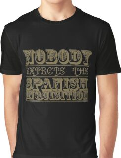 Best of British tv | Monty Python Ocre Graphic T-Shirt