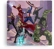 avengers Metal Print