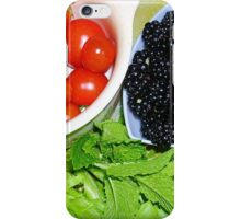 Today's Pickings from the Garden iPhone Case/Skin