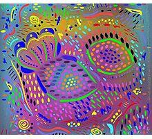 Sea Dream (drawing #1), Fun Abstract Photographic Print
