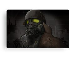 Apocalypse Soldier  Canvas Print