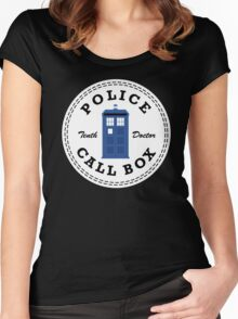 The Doctor's Converse Women's Fitted Scoop T-Shirt