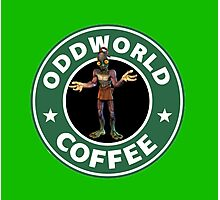 ODDWORLD CAFFE PS1 Photographic Print
