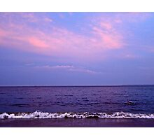 pink cloud Photographic Print