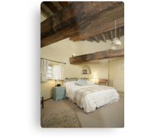 Cley Windmill's Stone Room Metal Print