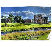 Brougham Castle, England Poster