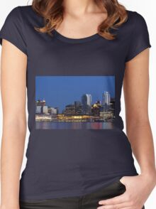 Vancouver in British Columbia  Women's Fitted Scoop T-Shirt