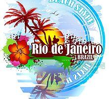 Rio de Janeiro Beach Style by dejava