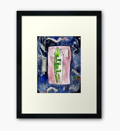 Oh What A Night... Framed Print