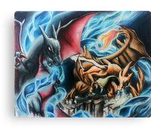 Dragons Canvas Print
