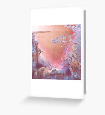Abstract Landscape - Tobermory Greeting Card