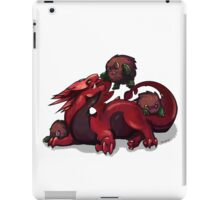 Outnumbered (Slifer & Kuriboh) iPad Case/Skin