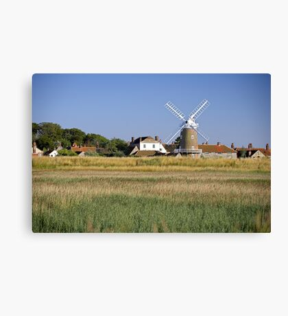 Cley Windmill Panorama Canvas Print
