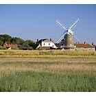 Cley Windmill Panorama by cleywindmill