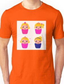 Little princess cakes for your School Girl Unisex T-Shirt
