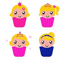 Little princess cakes for your School Girl Photographic Print