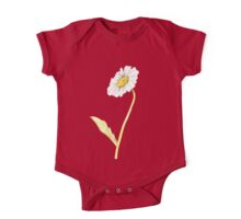 Ink Daisy Painting One Piece - Short Sleeve