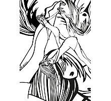 The fall - manga style Photographic Print