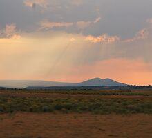 Eastern Oregon Sun Set by BreeBrootal