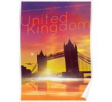 Welcome to the United Kingdom Poster