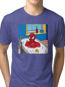 bubble man   Tri-blend T-Shirt
