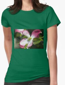 blooming magnolia flowers in spring Womens Fitted T-Shirt