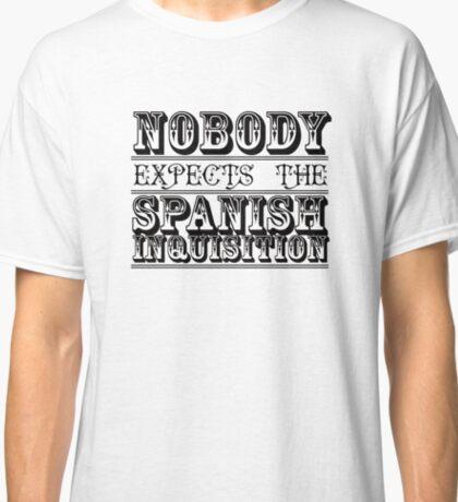 Best of British TV   Monty Python   Black Classic T-Shirt