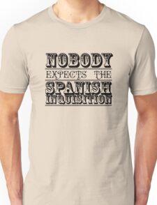 Best of British TV   Monty Python   Black Unisex T-Shirt