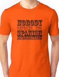 Best of British TV | Monty Python | Black Unisex T-Shirt
