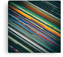 For the Love of Vinyl Canvas Print