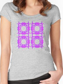 Octopus of Love Pattern Women's Fitted Scoop T-Shirt