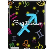 Sagittarius Floating Zodiac Name iPad Case/Skin