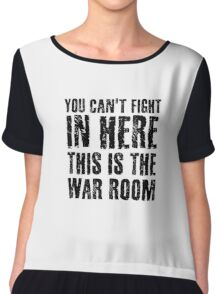 Stanley Kubrick Dr Strangelove Funny Movie Quotes Chiffon Top