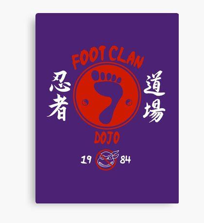 Foot Dojo  Canvas Print