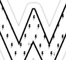 Weezer Bolts Sticker