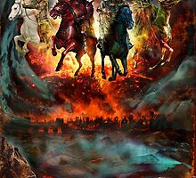 four horsemen by Reggaetonep4
